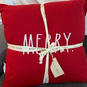 Rae Dunn Merry Christmas Pillows